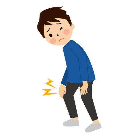 運動後や夜になると膝が痛くなってくる・・・